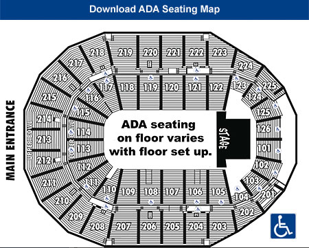 ADA Seating Chart Download