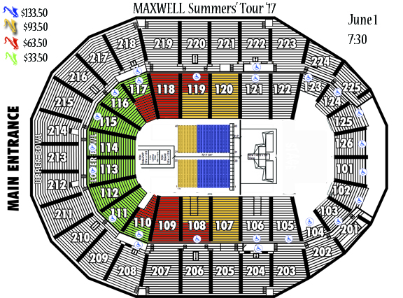 Maxwell Seating Chart